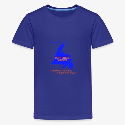 TOPSHELFNEWFIE - Kids' Premium T-Shirt