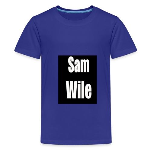 Sam Wile - Kids' Premium T-Shirt