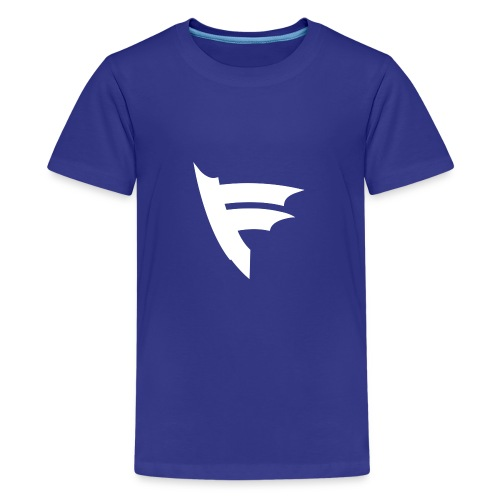 the f white - Kids' Premium T-Shirt