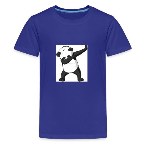 savage panda hoodie - Kids' Premium T-Shirt