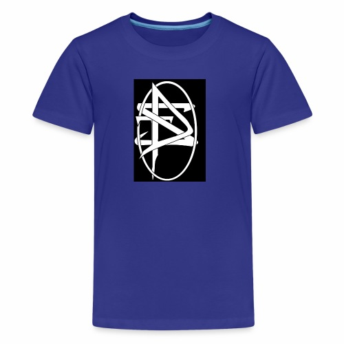 DTS Society w circle white - Kids' Premium T-Shirt