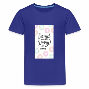 DONUT WORDY BE HAPPY - Kids' Premium T-Shirt