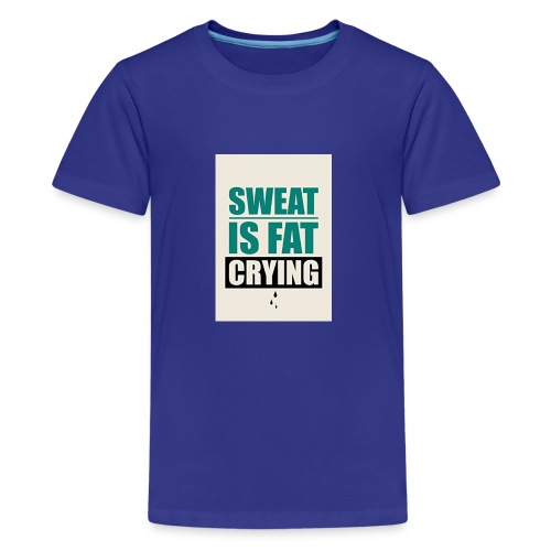 Gym Motivation 2017 Tank Top - Kids' Premium T-Shirt