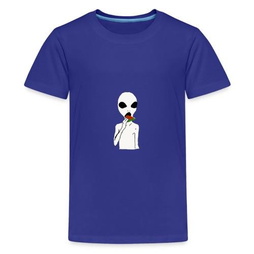 Hungry alien - Kids' Premium T-Shirt