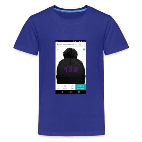 TSN beanie - Kids' Premium T-Shirt