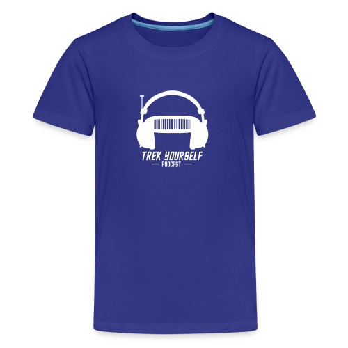 Trek Yourself Podcast Logo - Kids' Premium T-Shirt