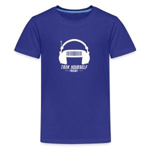 Trek Yourself Podcast Logo - Kids' Premium T-Shirt