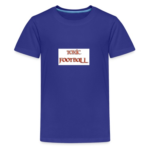 Flaming toxic football - Kids' Premium T-Shirt
