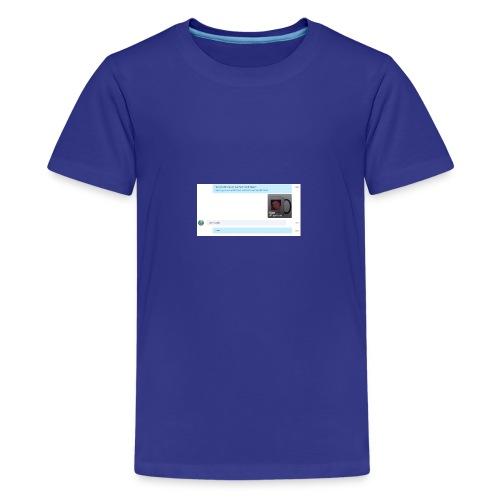 74357abedf89a7c24c9849509037d480_-1- - Kids' Premium T-Shirt