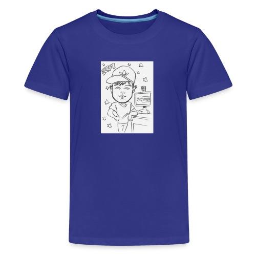 Elroy Sketch T-Shirt - Kids' Premium T-Shirt