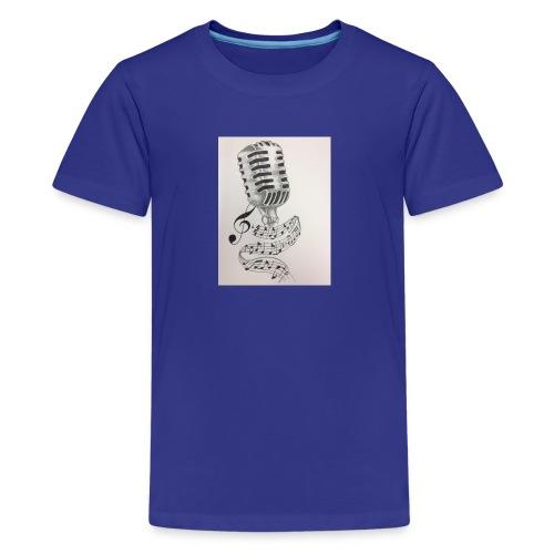 Microphone - Kids' Premium T-Shirt