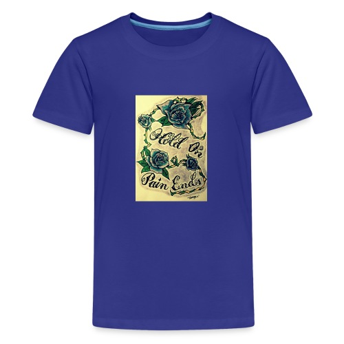 Hold On Pain Ends - Kids' Premium T-Shirt