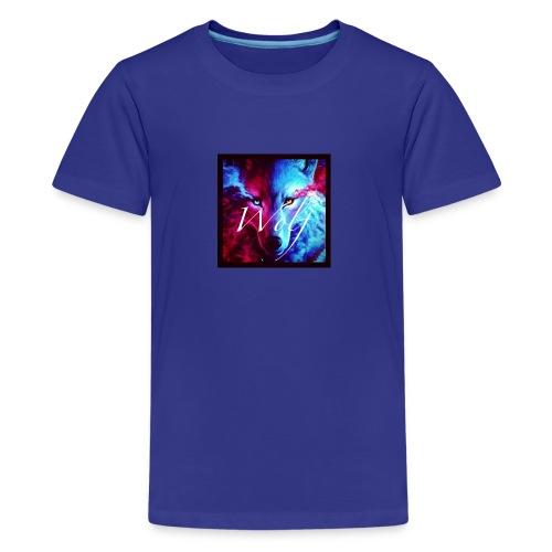 Cross wolf - Kids' Premium T-Shirt