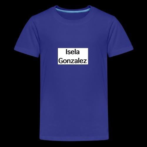 Isela Gonzalez logo - Kids' Premium T-Shirt