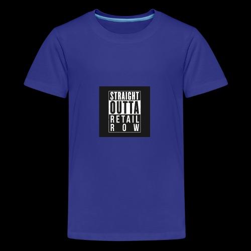 Straight outta retail row fortnite Phone case - Kids' Premium T-Shirt