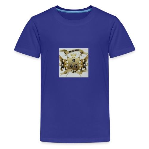 D4G logo - Kids' Premium T-Shirt