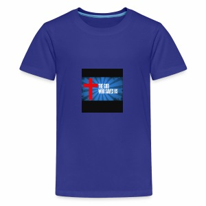 Because i am helping my church and my family - Kids' Premium T-Shirt