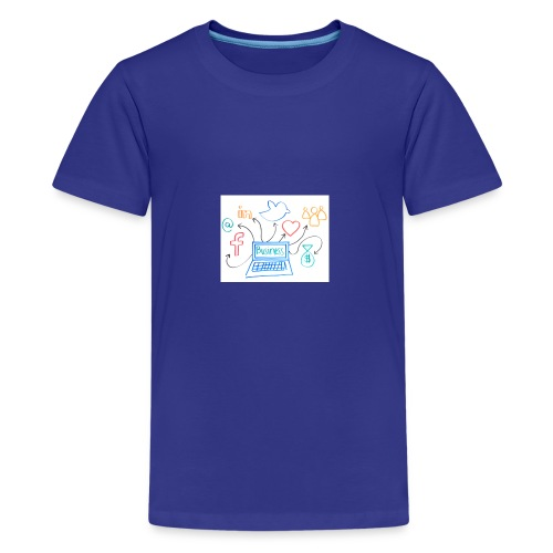 social media - Kids' Premium T-Shirt