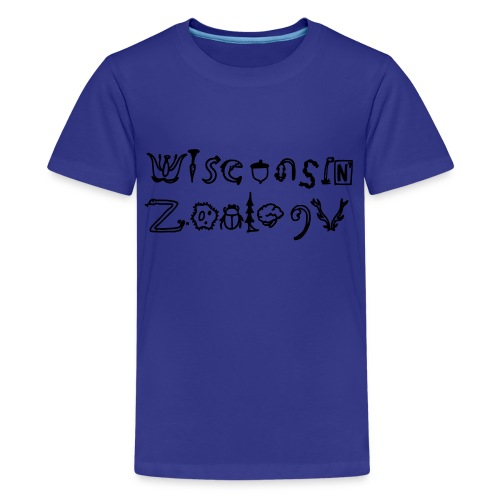 Wisconsin Zoology - Kids' Premium T-Shirt