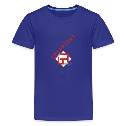 Dynamic 001 grapplersfight LOGO Front - Kids' Premium T-Shirt