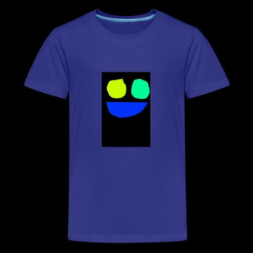 Smiley face colors - Kids' Premium T-Shirt