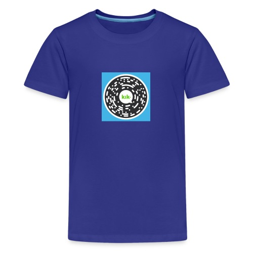 Add ruslanangell17 On Kik - Kids' Premium T-Shirt