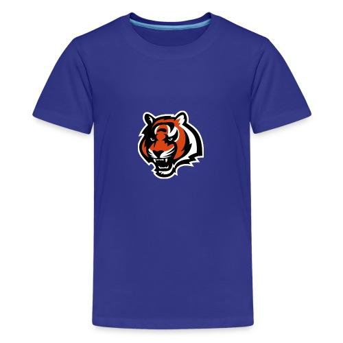 nfl logo black orange Logo - Kids' Premium T-Shirt