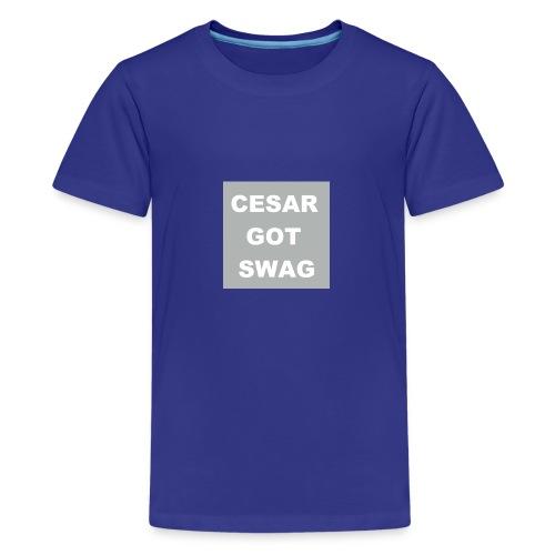 cesargotswag - Kids' Premium T-Shirt