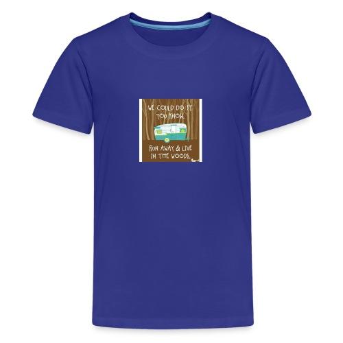 Camping - Kids' Premium T-Shirt