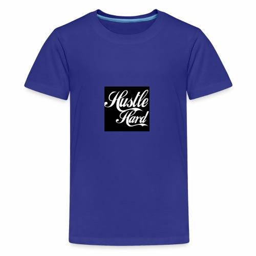 hustle hard - Kids' Premium T-Shirt