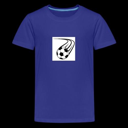 Soccer ball logo - Kids' Premium T-Shirt