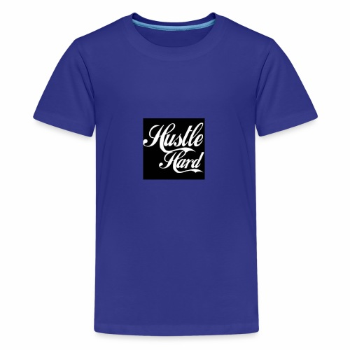 hustle hard - Kids' Premium T-Shirt