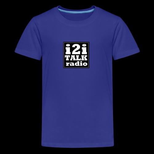 I2Iblacklogo - Kids' Premium T-Shirt