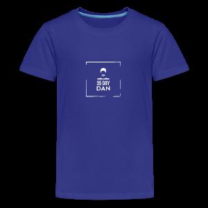 35DD Male White - Kids' Premium T-Shirt