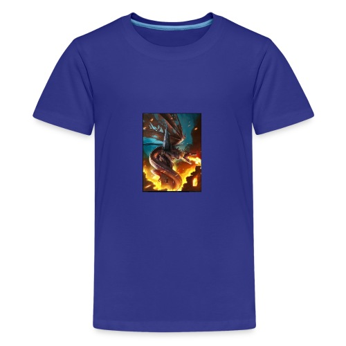 Dragon Logo - Kids' Premium T-Shirt