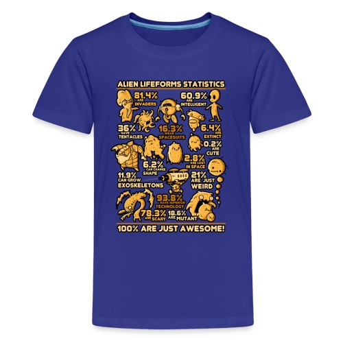 Alien Statistics - Kids' Premium T-Shirt