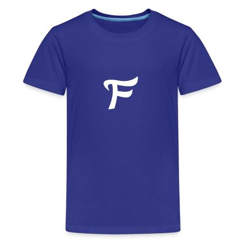 Fewn White Logo - Kids' Premium T-Shirt