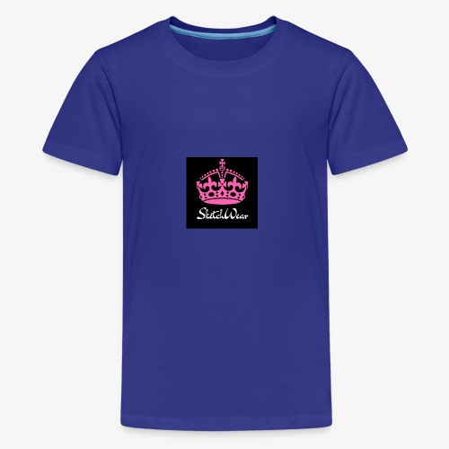 Boucher Fashion Logo - Kids' Premium T-Shirt