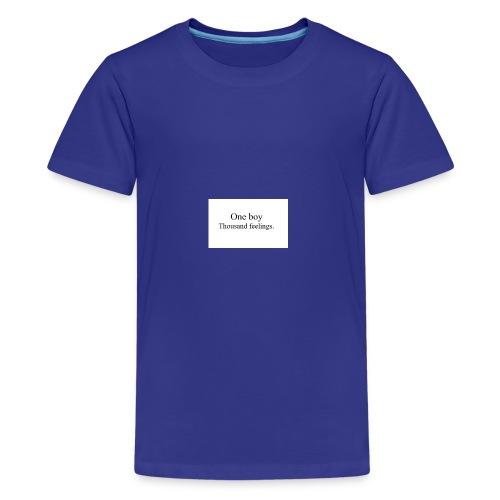 One boy - Kids' Premium T-Shirt