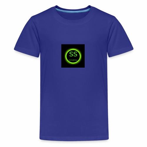 YT LOGO 1 - Kids' Premium T-Shirt
