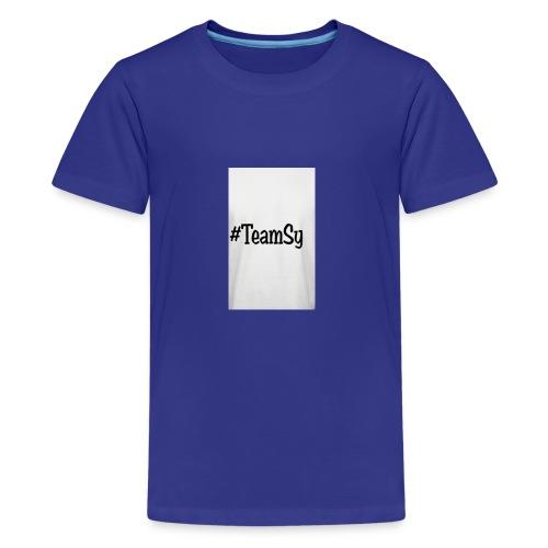#TeamSy - Kids' Premium T-Shirt