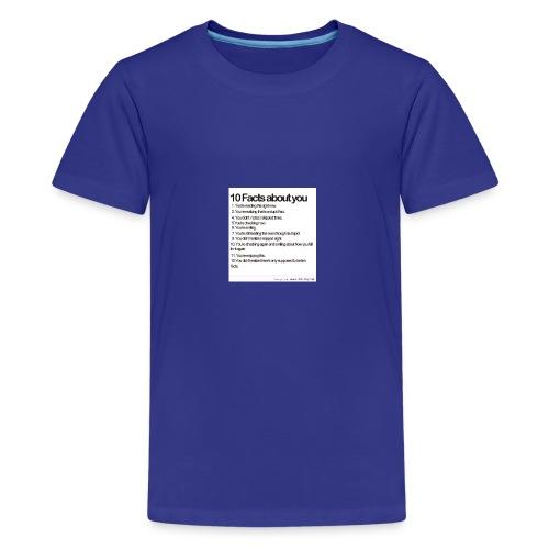 facts - Kids' Premium T-Shirt