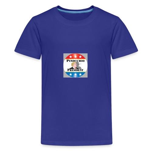 Pinocchio President - Kids' Premium T-Shirt