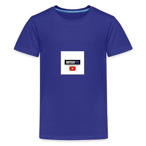 Bdye07 YT - Kids' Premium T-Shirt