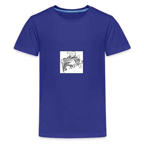 Floral Design 4 - Kids' Premium T-Shirt