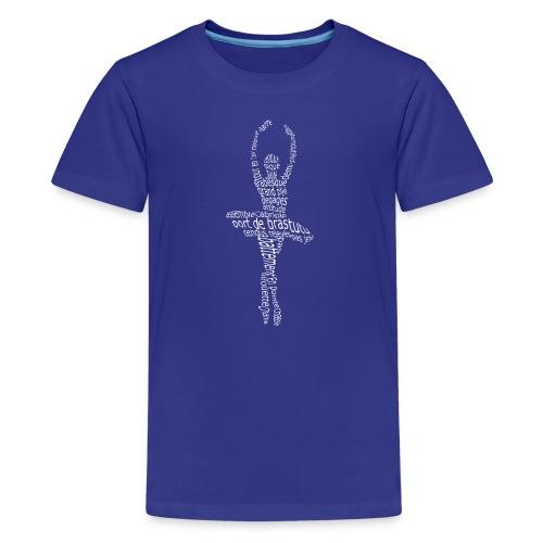 ballet lingo - Kids' Premium T-Shirt