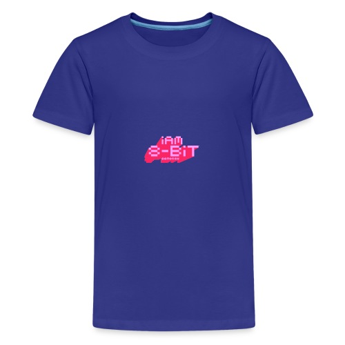 8-bit-flyer - Kids' Premium T-Shirt