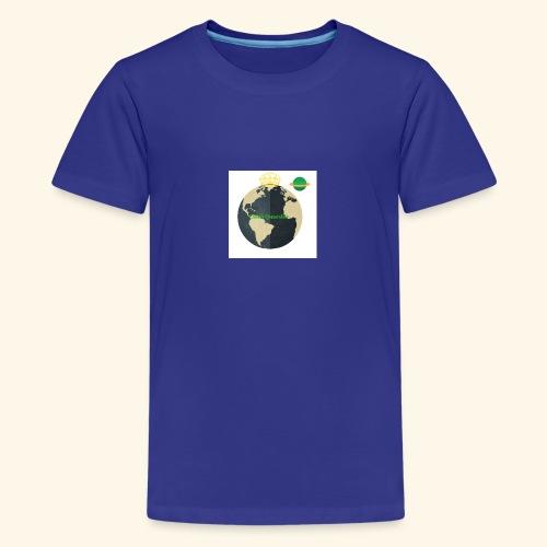 The Official Caleb Quarshie Logo - Kids' Premium T-Shirt