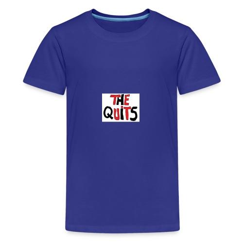 quits logo - Kids' Premium T-Shirt