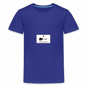 Come And Take It Guitar - Kids' Premium T-Shirt